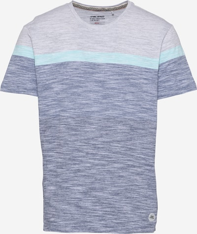 BLEND T-Krekls ūdenszils / zilgans / raibi pelēks, Preces skats