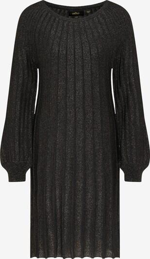 usha BLACK LABEL Gebreide jurk in de kleur Zwart, Productweergave