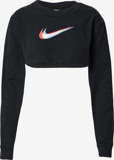 Nike Sportswear Sudadera en azul claro / coral / negro / blanco, Vista del producto