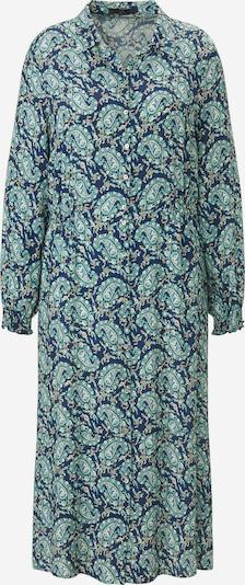 Emilia Lay Avondjurk in de kleur Blauw / Marine / Mintgroen, Productweergave