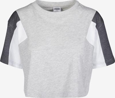 Urban Classics Majica u siva / crna / bijela, Pregled proizvoda