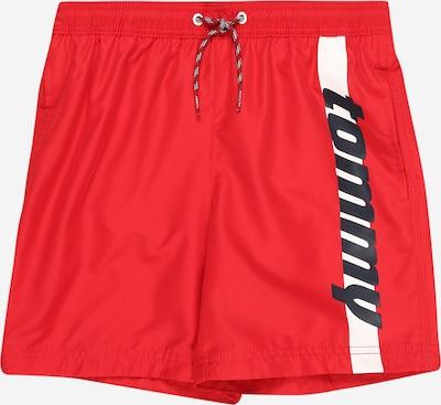 TOMMY HILFIGER Zwemshorts in de kleur Navy / Rood / Wit, Productweergave