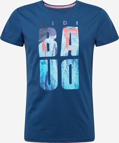 BIDI BADU Funkčné tričko 'Aleke' - svetlomodrá / tmavomodrá / červená, Produkt