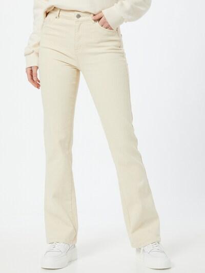 VERO MODA Jeans 'Saga' in de kleur Crème, Modelweergave