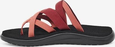TEVA Sandale in bordeaux, Produktansicht