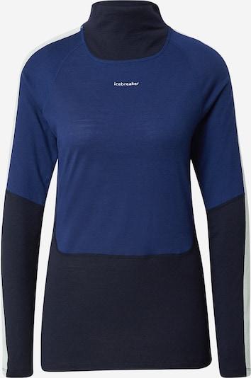 Tricou funcțional 'Sone' ICEBREAKER pe albastru ultramarin / albastru închis, Vizualizare produs