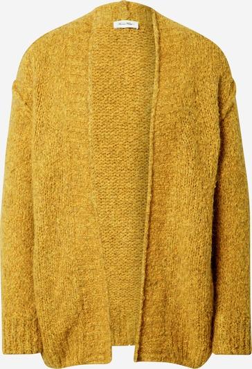 AMERICAN VINTAGE Gebreid vest 'Tudbury' in de kleur Geel, Productweergave