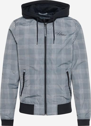 HOLLISTER Chaqueta de entretiempo en gris / antracita / negro / blanco, Vista del producto