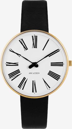 Arne Jacobsen Arne Jacobsen Damen-Uhren Analog Quarz ' ' in gold / schwarz, Produktansicht