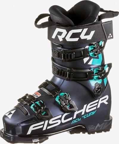 FISCHER Skischuhe 'RC4 THE CURV 105 VACUUM WALK' in blau / weiß, Produktansicht