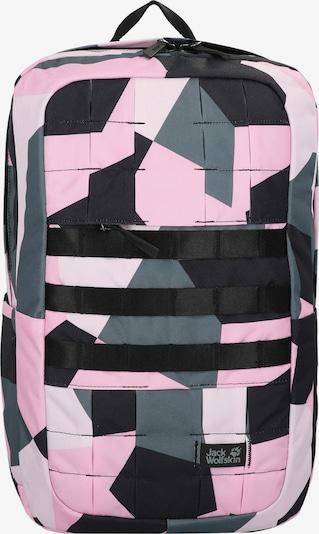 JACK WOLFSKIN Rucksack in pastellgrün / pink / schwarz / weiß, Produktansicht