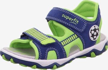 SUPERFIT Sandale  'MIKE' in Grün