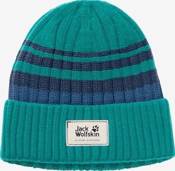 JACK WOLFSKIN Mütze in Blau