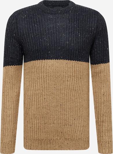 Only & Sons Pullover 'Nazlo' in beige / schwarz, Produktansicht