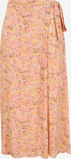 Fustă 'PICCA' Y.A.S Tall pe galben / oliv / roz / alb coajă de ou, Vizualizare produs