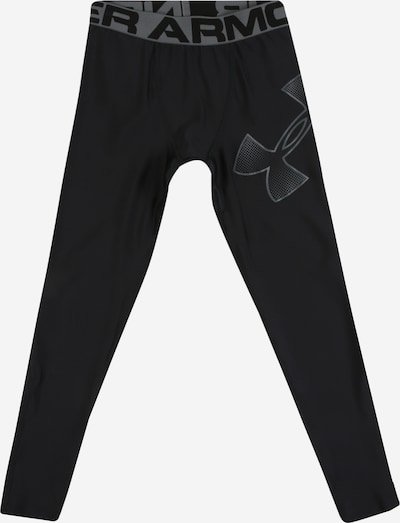 UNDER ARMOUR Tights 'UA HeatGear Armour Leggings' in grau / schwarz, Produktansicht
