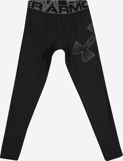 UNDER ARMOUR Sportovní kalhoty 'UA HeatGear Armour Leggings' - šedá / černá, Produkt