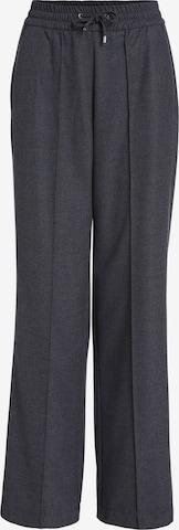 Pantaloni con piega frontale di SET in grigio