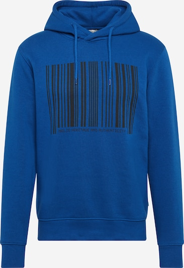 !Solid Sweatshirt 'Marza' i blå / sort: Frontvisning