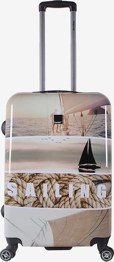 Saxoline Blue Reisegepäck 'Blue Sailing' in beige, Produktansicht