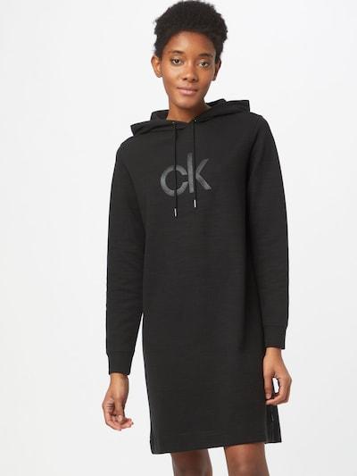 Calvin Klein Obleka | pegasto črna barva: Frontalni pogled