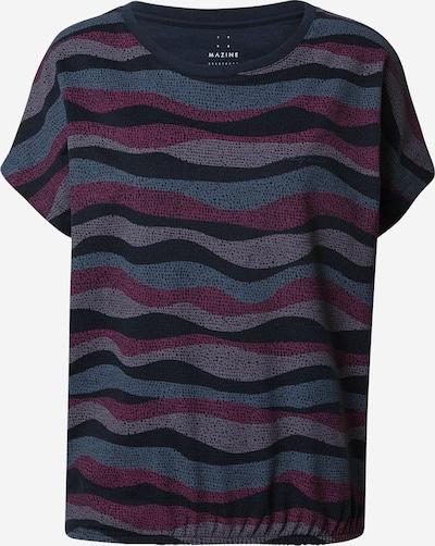 mazine Shirt 'Melissa' in de kleur Navy / Duifblauw / Grijs / Antraciet / Donkerlila, Productweergave