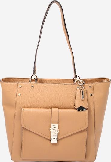 Pirkinių krepšys 'Albury' iš GUESS, spalva – šviesiai ruda, Prekių apžvalga