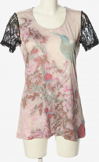 CMP Kurzarm-Bluse in M in pink / schwarz, Produktansicht