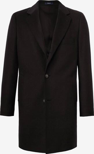 Boggi Milano Manteau mi-saison en noir, Vue avec produit