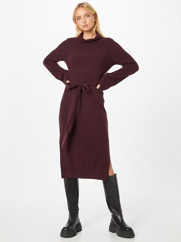 GAP Gebreide jurk in Rood