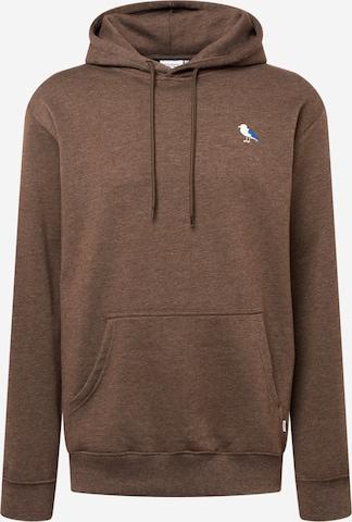 Cleptomanicx Sweatshirt 'Embro Gull 2' in Grün
