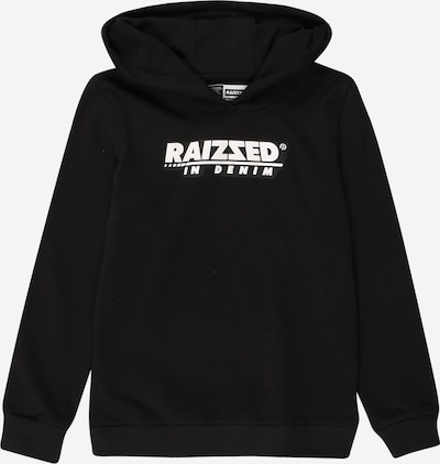 Raizzed Sweatshirt 'Newton' in schwarz / weiß, Produktansicht
