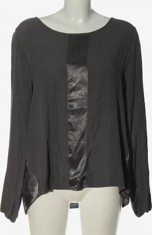 AUST Langarm-Bluse in L in Grau