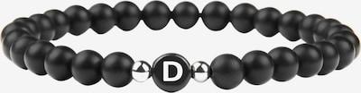 GOOD.designs Armband 'D' in schwarz, Produktansicht