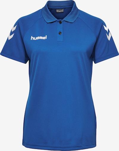 Hummel Functioneel shirt in de kleur Kobaltblauw / Wit, Productweergave