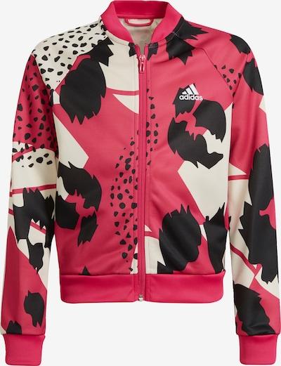 ADIDAS PERFORMANCE Sportjas in de kleur Pink / Zwart / Wit, Productweergave