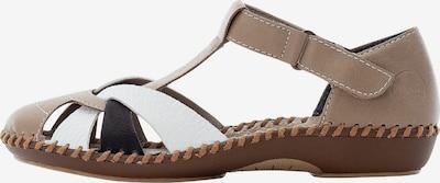 RIEKER Sandale ' M1668 ' in beige, Produktansicht
