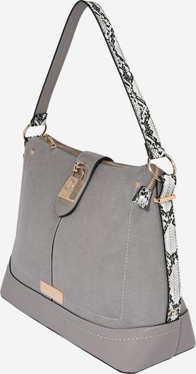 River Island Ručna torbica u bež siva / crna / bijela, Pregled proizvoda