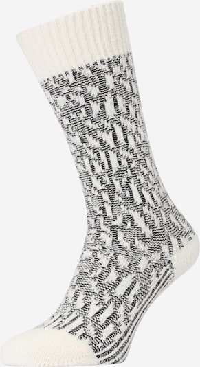 FALKE Sockor i antracit / vit, Produktvy