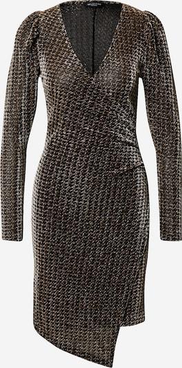 SELECTED FEMME Jurk 'Petra' in de kleur Brons / Zwart, Productweergave