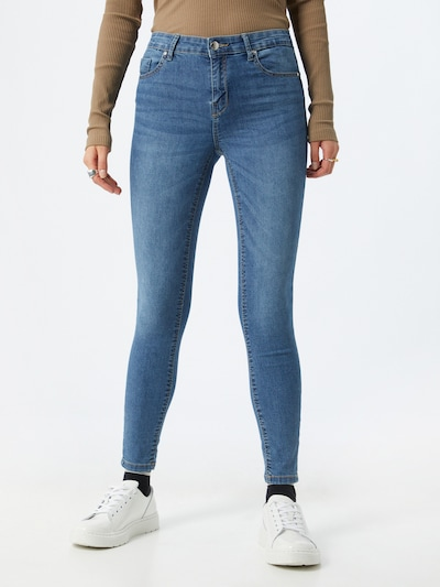 ONLY Jeans 'Iris' in blue denim, Modelansicht