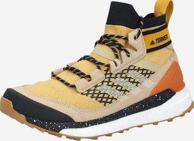 ADIDAS PERFORMANCE Boots 'TERREX Free Hiker' en jaune foncé / mélange de couleurs, Vue avec produit