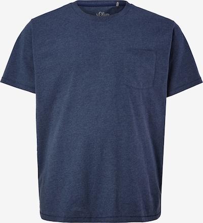 s.Oliver Red Label Big&Tall Jerseyshirt in blaumeliert, Produktansicht