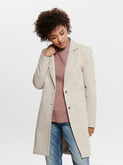 ONLY Between-seasons coat 'Carrie Mel Otw' in beige, View model
