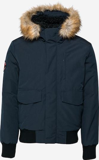 Superdry Jacke 'EVEREST' in navy / hellbraun, Produktansicht
