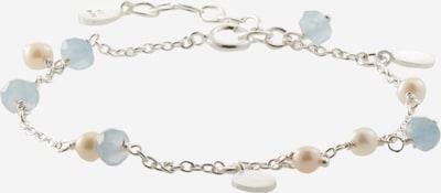világoskék / ezüst / gyöngyház-fehér Pernille Corydon Jewellery Karkötő, Termék nézet