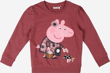 NAME IT Sweatshirt 'Peppapig Frigg' in Pink