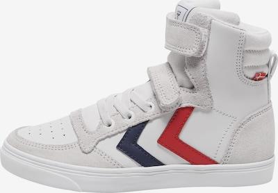 Hummel Sneaker in navy / grau / rot / weiß, Produktansicht