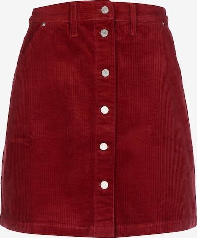Tommy Jeans Rock in burgunder, Produktansicht