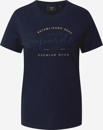 Superdry T-Shirt in blau, Produktansicht